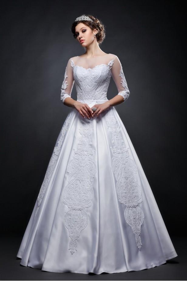 a848739e8ec Новая коллекция свадебных платьев 2018 оптом и в розницу купить в ...