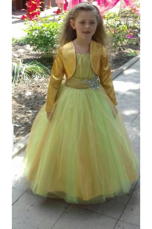 Радуга (детское платье)